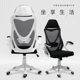時尚美背人體工學電腦椅