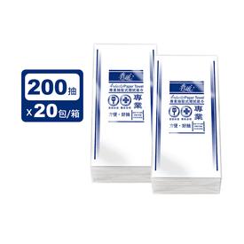 春風專業200抽擦手紙