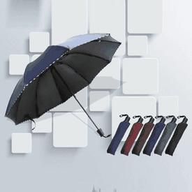 大傘面抗UV三折傘