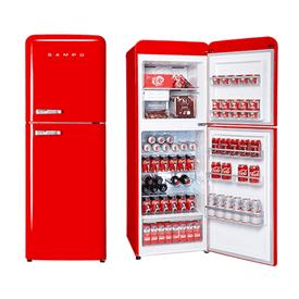 聲寶1級能效雙門冰箱