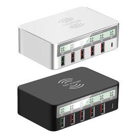 六孔無線100W快充充電器