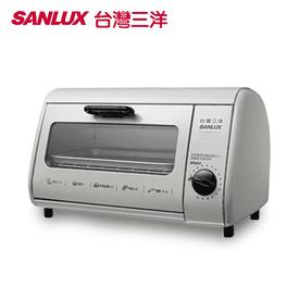 台灣三洋8L可定時電烤箱