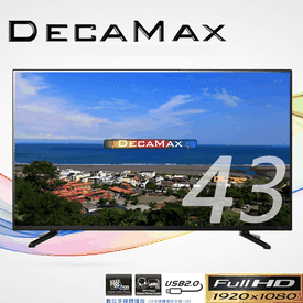 旗艦級43吋FHD液晶電視