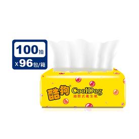 黃酷狗抽取式衛生紙