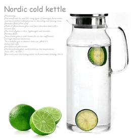 簡約耐熱玻璃冷水壺