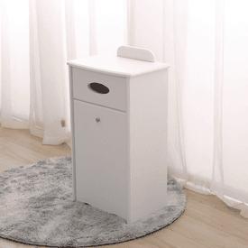 實木面紙收納櫃垃圾桶