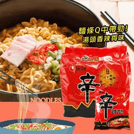 韓國內銷版農心辛拉麵組
